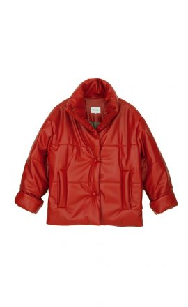 Hide Jacket Red