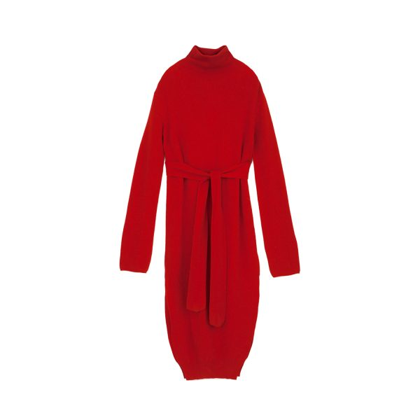 Canaan Dress Red