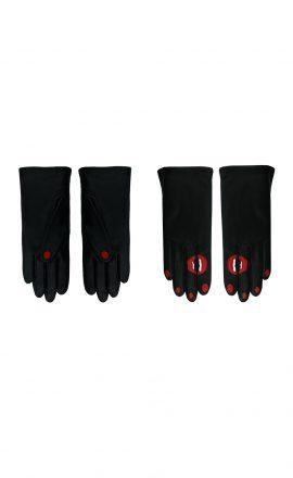 Gloves A61 Black Black