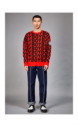 Aver Jumper Red