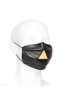 Mask Iris Leather