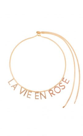 Necklace La Vie En Rose