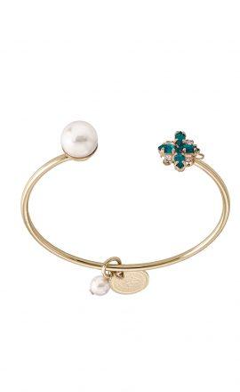 Bracelet Cross Green