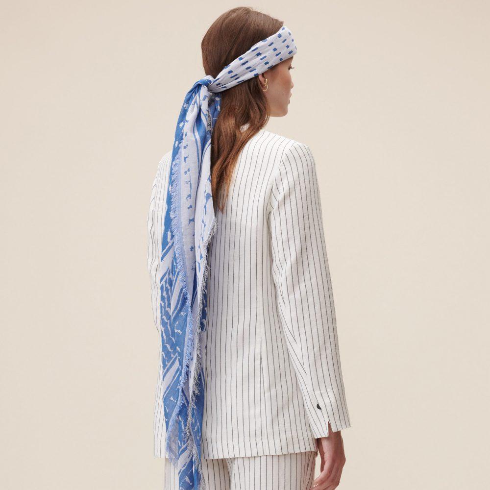 triangle cotton blue 03